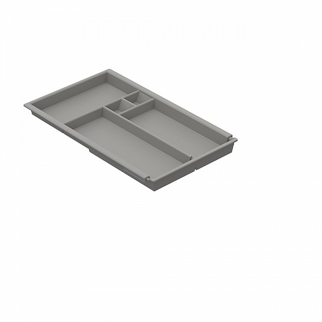 EXPANDABLE OFFICE DRAWER ORGANIZER PEN TRAY-20x34/44.5cm-GRAY